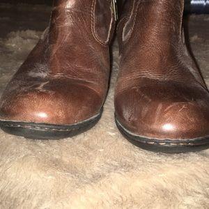 Born Shoes - BORN leather boots zip up GUC SZ 8.5